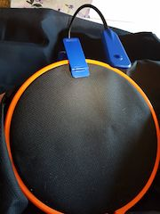 hoop light cross stitch