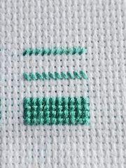 basic cross stitching