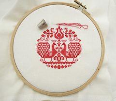 cross stitch example