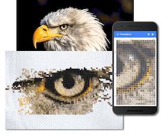 full-cover cross-stitch photo conversion