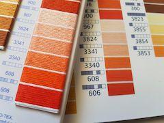 Color Cards DMC