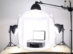 A light tent, it's the only way to be sure